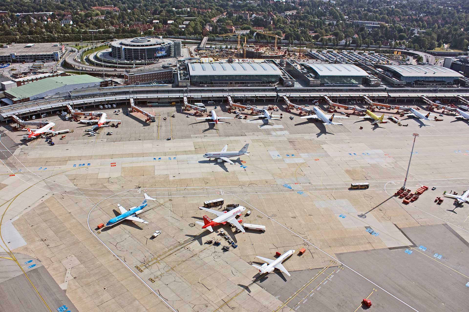 Internationaler Flughafen Hamburg